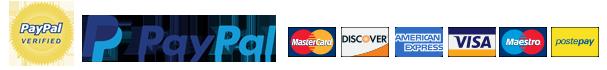 PAgamenti sicuri con i circuiti Paypal e Braintree