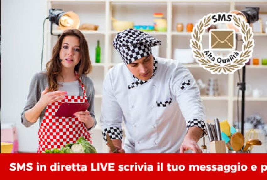 Migliora l'interazione tra il pubblico e la trasmissione televisiva con un SMS