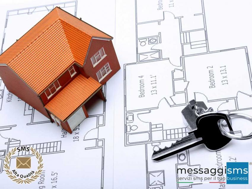 Gestisci le Informazioni degli Immobili, gli Appuntamenti e le Chiusure con un SMS