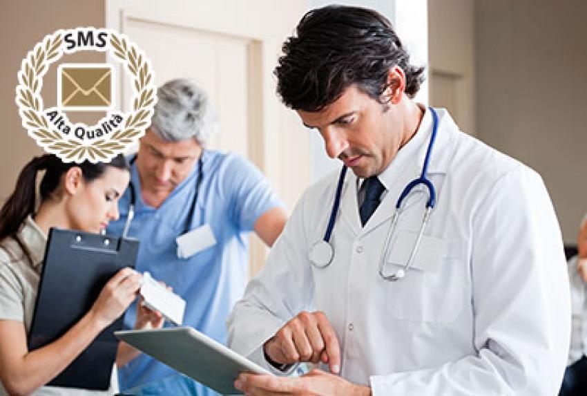 Accesso alla cartella clinica, prenotazione delle visite e ricezione info via SMS.